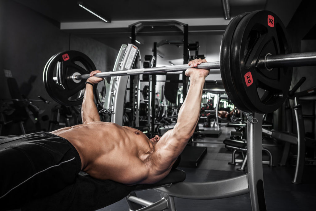 barbell chest Bench Press