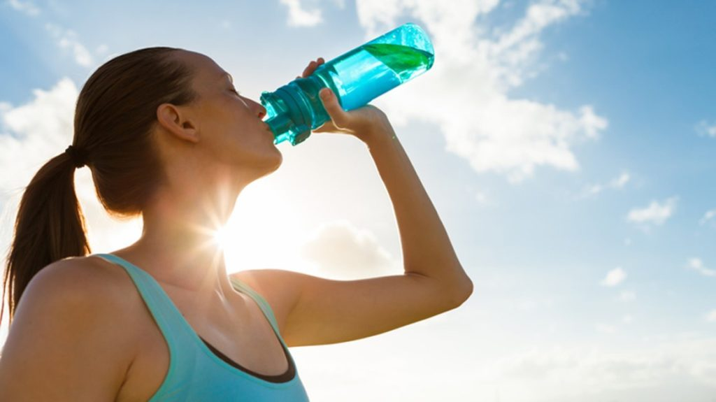 drink-water to turn fat into muscles